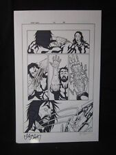 Amory Wars Issue 4 page 9 Signed Claudio Sanchez Coheed Cambria