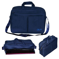 "ACM-EXECUTIVE OFFICE PADDED LAPTOP BAG for 10"" LAPTOP ALL MODELS BLUE"