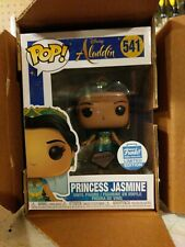 Funko POP Princess Jasmine Diamond Disney Aladdin FUNKO SHOP w/ protector