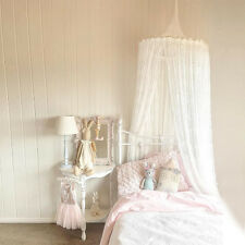 Baby Bed Hanging Netting Summer Mosquito Net White Lace Curtain Kid Beds Canopy