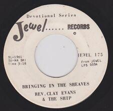 REV CLAY EVANS {70s Black Gospel} BRINGING IN THE SHEAVES / ROOM AT THE ♫hear VG