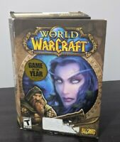 World of Warcraft Original Box - PC Game, Blizzard (2004) with Manual