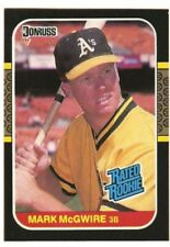 1987 Donruss Mark McGwire Oakland A's ROOKIE RC! ! Great Condition! Cardinals HR