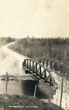 C.1910 RPPC Monistee River, Monton, Mich. Postcard P167