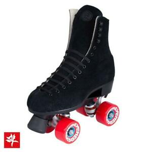 Riedell 135 Zone Black Outdoor Roller Skates