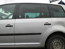Tür hinten links VW Touran LA7W silber reflexsilber