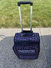 Dream Duffel Carry-on Limited Edition Purple Giraffe Print