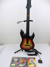 Ps3 / PC Guitar Hero Sunburst World Tour Wireless Controller 3 Games + USB