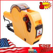 Mx5500 Eos 8 Digits Price Tag Gun Labeller With Label Roll And Ink Roller B1x1
