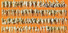 Passeggero/Passanti 120 personaggi non colorati Preiser 16337 scala HO 16,5