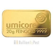 Umicore Gold Bullions