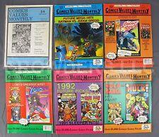 Attic Books Comics Values Monthly Magazine #54 64 65 67 68 70 DC Marvel Batman