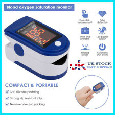 Finger Pulse Oximeter Blood Oxygen Saturation SpO2 Meter Fingertip PR Monitor