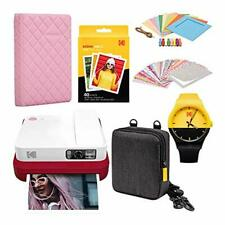 KODAK Smile Classic Digital Instant Camera with Bluetooth (Red) Scrapbook Photo