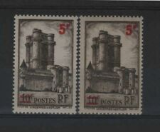 """FRANCE STAMP TIMBRE 491 """" VINCENNES 5F S.10F VARIETE COULEUR """"NEUFS xx LUXE R324"""