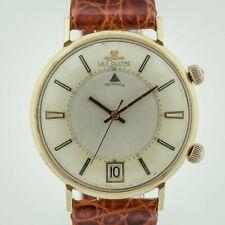 Jaeger LeCoultre Memovox Date, Ref 2744-1-910/911, 14K Solid Gold, Alarm, Men's