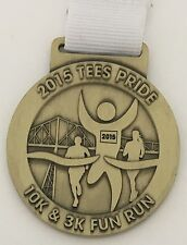 Taylor Wimpey Tees Pride 10k & 3k Fun Run 2015 Finisher Medal with Ribbon