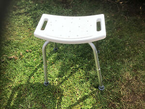 Height adjustable STOOL /CHAIR for Bath, Shower - Elderly - Delta Sport