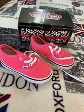 BNWT Brand New In Box Vans Off The Wall Shoes Baby Girls Size US 6 Pink Toddler