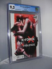 X-FORCE SEX AND VIOLENCE #1 2ND PRINT CGC 9.2 DELL'OTTO VARIANT X23 WOLVERINE