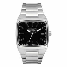 New Nixon Mens Manual II Stainless Steel Analog Watch A244-000