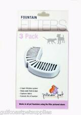 Pioneer Pet Raindrop Fountain Water Filters (6 boxes = 18 filters)
