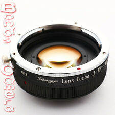 Zhongyi Focal Reducer Booster Lens Turbo II Canon EOS EF to Sony E Adapter NEX-7