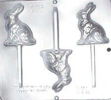 Bunny Lollipop Chocolate Candy Mold Easter  850 NEW