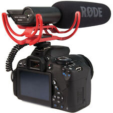 Rode VIDEOMIC Mounted Shotgun Microphone Fr Canon Nikon w/ 3.5mm Mic port Camera