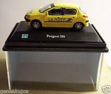 CARARAMA HONGWELL PEUGEOT 206 POSTES CENTRO DE CONTROL PTT BOX 1/72