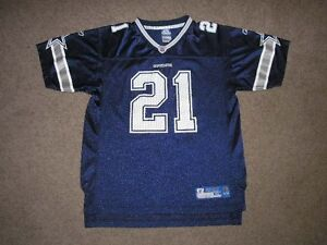 J JONES 21 Dallas NFL Football Jersey Youth 18-20 Extra Large 242