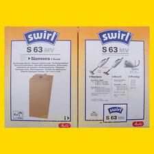 2 Pakete Swirl S 63 Staubsaugerbeutel S63  - 12 Beutel
