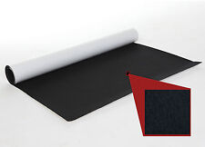 Filz, selbstklebend, Meterware, 91 cm x 100 cm, Schwarz, 1 mm,  Dekofilz
