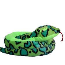 Stofftier Plüschtier Kuscheltier Schlange Anakonda Boa Plüsch Spielzeug 200cm XL