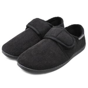 Men's Diabetic Slippers Arthritis Edema Indoor Outdoor House Comfort Shoes