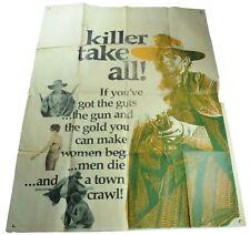 A Stranger In Town Movie Poster, 1967, Original