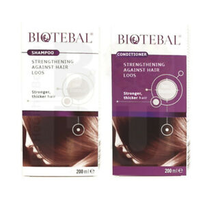 BIOTEBAL anti hair loos set (shampoo 200ml & conditioner 200ml) ORIGINAL