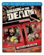 Shaun Of The Dead - 2 DISC SET (2013, Blu-ray NEW) BLU-RAY/WS/Steelbook/Lmtd ED.