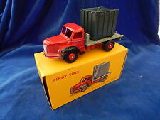 ATLAS - DINKY TOYS - CAMION / Truck - PLATEAU BERLIET AVEC CONTAINER 34B - TOP !