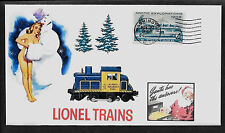 Lionel 8268 Alaska Switcher & Pin Up Girl Featured on Collector's Envelope A278