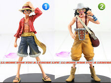 "Anime One Piece THE NEW WORLD Monkey D Luffy USOPP 2 PCS 6"" FIGURES GIFT TOY NIB"