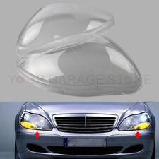Paar Links + Rechts Scheinwerferglas Streuscheibe Für Benz W220 S600 S500 98-05