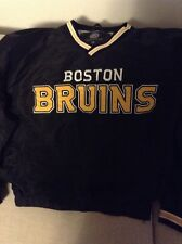 Official NHL Boston Bruins Pull Over Nylon Jacket Mens Large