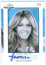 "JASMINE DUSTIN ""HOT TEACHER YEARBOOK AUTOGRAPH /5"" BENCHWARMER SIGNATURE SERIES"