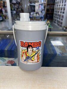 1984 Ladybird Vintage Flask Childrens Rambo
