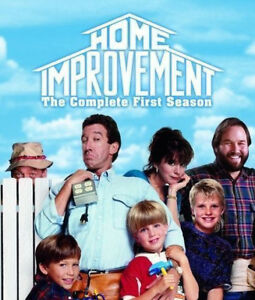 HOME IMPROVEMENT - First Season One (DVD :4 DISC) Series 1 - ALMOST 10 HOURS !!