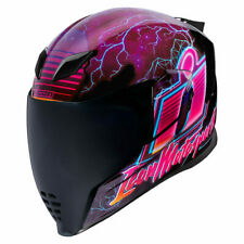 Helm Icon Airflite Synth Wave Pink Gr. XS Motorradhelm Integralhelm