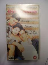 THREESOME [1994] VHS PAL Cert 18 - Sexual Comedy – Stephen Baldwin, Josh Charles