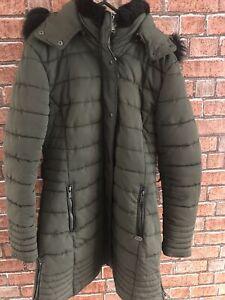 Firetrap Luxe Bubble Coat Womens UK Size 12