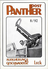 AG 52 * PANTHER POST * Leck,Phantom RF- 4E * 8 / 92 * Aufklärungsgeschwader 52